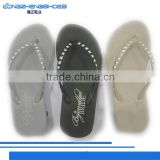 New product best high heeled ladies sandals rubber slippers