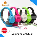New 2015 product idea earphone promotional headphone sporting goods china headphones (HS01)