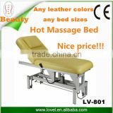 beauty salon furniture for sale adjustable electric treatment bed 1 or 2 Motors Electric Lift Full Body Massage Bed facial bed