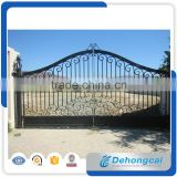 China supplier auminum farm house gate, ranch gate design, automatic gate for home decoration