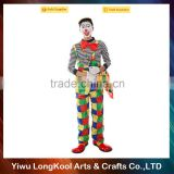 Hot selling halloween adult costume professional funny clown costume