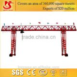 From manufacturing supplier, MH model single girder truss type yard use light duty gantry crane