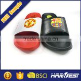 Black rubber slippers children,black thick sole flip flops                                                                         Quality Choice