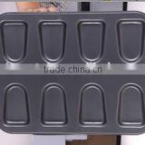 8 pcs ice iream cake mound with stickers, baking tin, baking mould