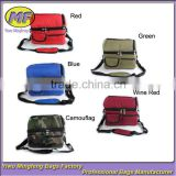 cooking hiking portable food delivery cooler lunch bag mix color