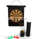 Magnetic Dart Board with dart barrel package