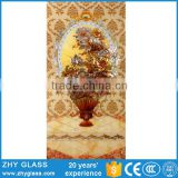 Handmade Fusing Wall Decoration Glass Painting Islamic Designs