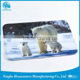 gold supplier china pvc anti-slip plastic floor memory bath mat