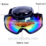 HD 720P Glasses Camera Skiing Goggles camera Waterproof pinhole Hidden glasses sport Camera