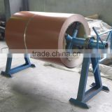 China manual steel coil uncoiler machine