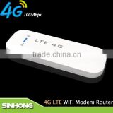 High Speed Download 100Mbps 4G LTE USB Dongle