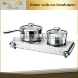 CE & GS approval electric cooking hot plate 2500W suitable for any pot
