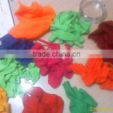 mixed color cotton hosiery clips