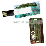 Card usb flash drive 8GB USB 2.0 Memory Credit Card Size usb, blank usb card memory stick