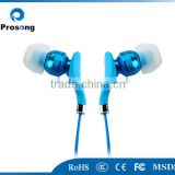 Newest ultimate noise isolating silicone stereo earphone