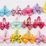 Wholesale Butterfly Ribbon Bow Hair Clip For Girls