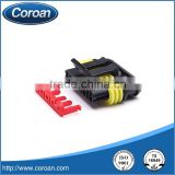 5 pin plastic waterproof black female connector 282089-1/DJ7051-1.5-21 for automotive application,housing application