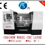 car wheel repair lathe CK6180W cnc machine for alloy wheels and steel rim polishing machine
