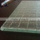 6.38mm-40mm Laminated Wired Glass Safety decorative wired glass with CE ISO certificate