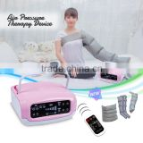 Home use body shaping lymph drainage air pressure electric massage pressotherapy equipment