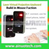 laser virtual keyboard mouse with LED screen bluetooth projection keyboard for android tablet smartphone,laptop