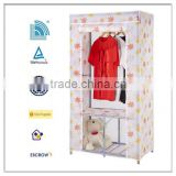 Portable folding plastic wardrobe ,Fabric closet,Oxford cloth wardrobes