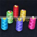 recycled cheap intermingle polyester core spun conveyer band yarn