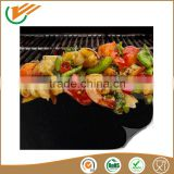 2015 New PTFE no mess reusable heat resistant bbq grill mat non stick cooking mat sheet liner