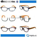 Hand polished raw material bamboo temple high end reading glasses