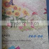 wall hanging paper crafts/wall paper rolls/wall paper price