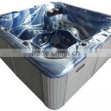 100 JETS Whirlpool USA Portable personal import bathtub acrylic outdoor spa for hot sell in feet price