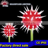 outdoor landscape ball cactus light special innovative product unique square lamp