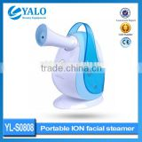 YL-S0808 Skin Care mini ozone ion facial steamer/nano ion beauty facial steamer