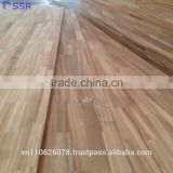Acacia wood Finger Joint board to make worktop/Countertop/Benchtop/Table top