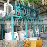100T/24h easy operate maize grain roller mills milling grinder mill