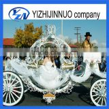 Romantic wedding cinderella horse drawn carriage big size pumpkin wagon