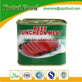 Canned Cheap Export Luncheon Beef Meat Factory