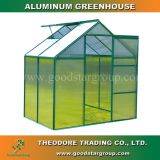 Good Star Group aluminum hobby greenhouse green outdoor backyard garden portable greenhouse kits polycarbonate panels