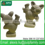 Chinese Toy Manufacturers Handicraft Paper Mache Animal Toy for kids