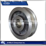 Heavy Load High Precision Forged Cabin Overhead Crane Wheels