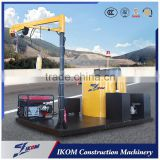 Mounted road crack sealing machine construction