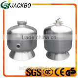 Hot sale commercial swimming pool large size flange stainless steel material sand filter
