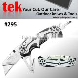 belt cutter and utility blade equiped edc multi hand tool utility knife