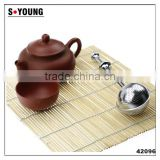 42096 high quality stainless steel wire mesh filter tea ball,ss tea infuser tea strainer