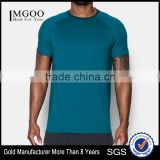 Sports Short Wear For Man Gym Breathable Jogging Summer Sport Tee Customize Logo Tight Fit Body Building Tshirt