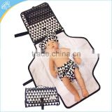 Foldable Mat with Detachable Pad Portable Diaper Changing Station for Baby Newborn Infant