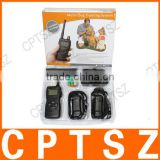 Multi-function Remote Control LCD 3 Dogs Training Collar 1000m Shock + Vibrate Pet Trainer Products Supplies