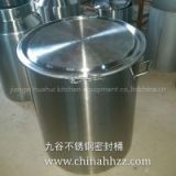 china factory used stainless steel 50 gallon wine barrel for sale