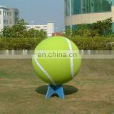 Different Size Custom Printed Logo Giant tennis ball inflatable ball