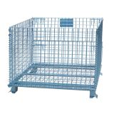 Warehouse storage euro container trolley